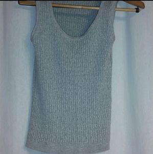 Jeanne Pierre Gray Sweater